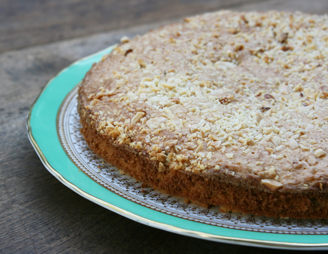Essex Girl Cooks Healthy Low Cholesterol Almond Cake