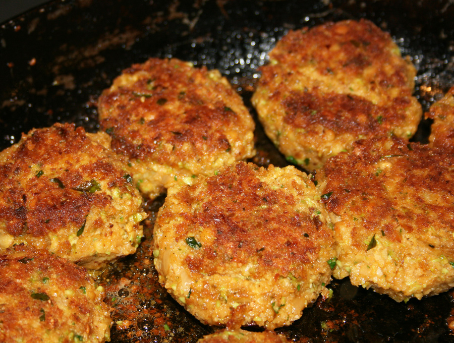 Essex Girl Cooks Healthy Low Cholesterol Falafel With