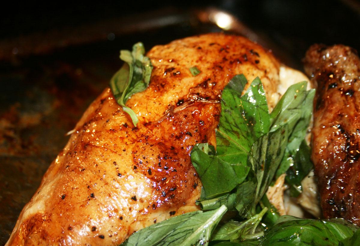 Essex Girl Cooks Healthy | Low Cholesterol | Lemon & Basil Chicken